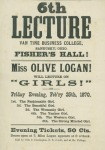Logan's Sixth Lecture